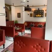 Stokholmā ir jauna vieta, kur baudīt indiesu un persiesu virtuvi - Diwän. Mums tas bija interesants projekts, kur realizējām loti ipasas galdu virsmas un mīkstās mēbeles. Sadarbībā ar Nils Holger. -- There is a new place in Stockholm, to get Indian and Persian kitchen - Diwän. We were glad to create and supply very special tabletops and upholstered furniture. In cooperation with Nils Horger.  #customized #tailored #project #furniture #restaurant #bar #shopfitting #shop #caffee #teamwork #values #nordifurniture